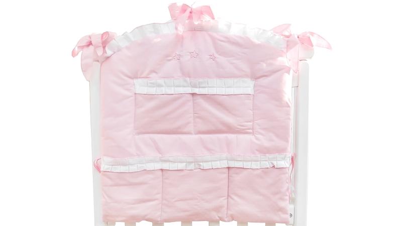 Аксессуар в кроватку Карман Три медведя (розовый) фото (1)