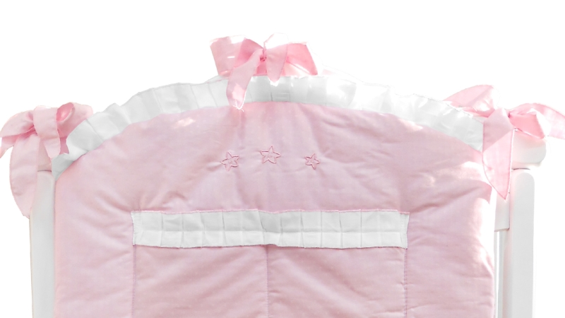 Аксессуар в кроватку Карман Три медведя (розовый) фото (2)
