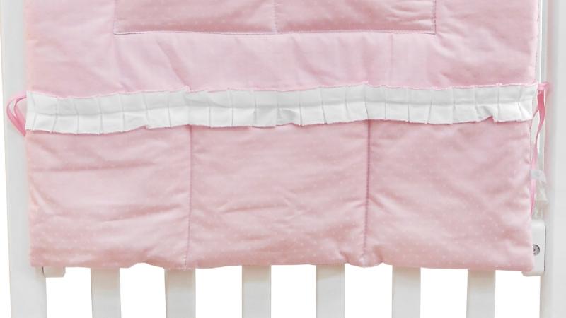 Аксессуар в кроватку Карман Три медведя (розовый) фото (3)