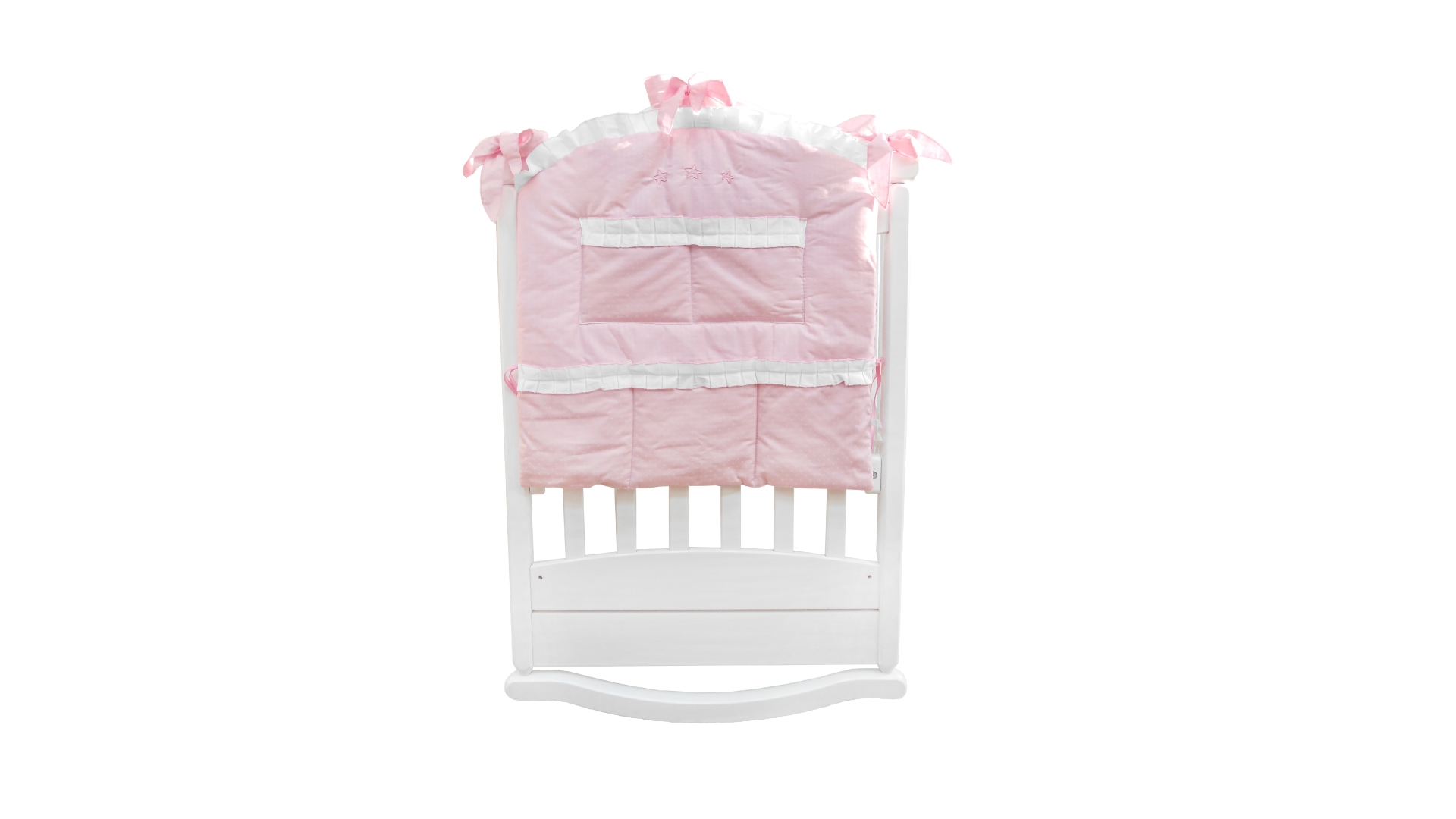 Аксессуар в кроватку Карман Три медведя (розовый) фото FullHD (0)