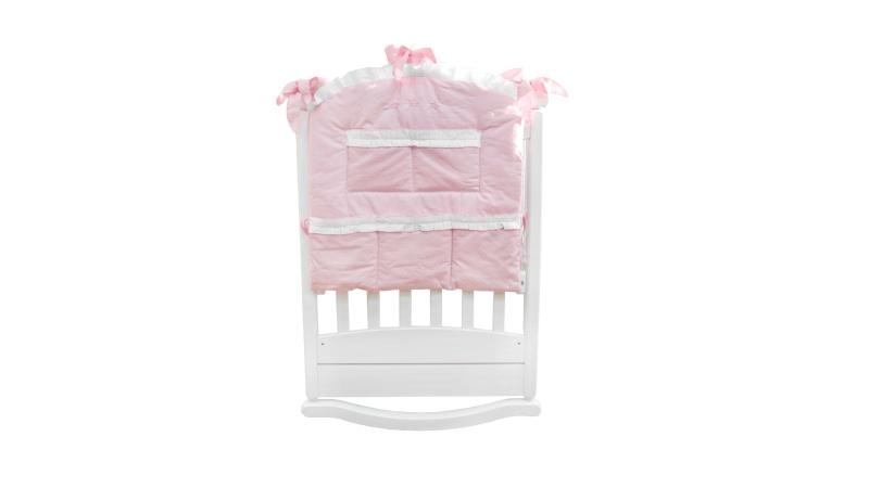 Аксессуар в кроватку Карман Три медведя (розовый) фото (0)