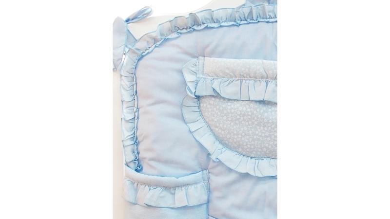 Аксессуар в кроватку Карман Светик (голубой) фото (3)