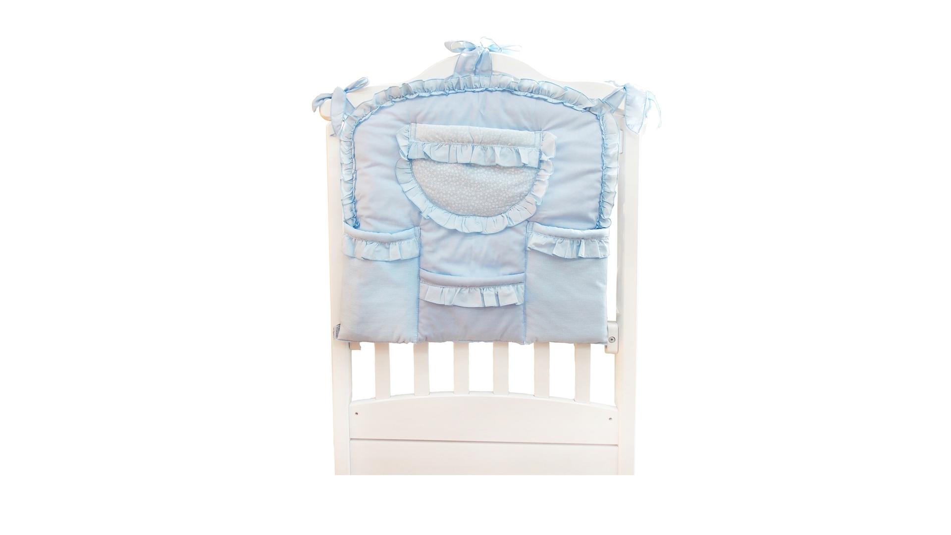 Аксессуар в кроватку Карман Светик (голубой) фото FullHD (0)