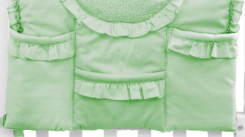 Аксессуар в кроватку Карман Светик (зелёный) фото (2)