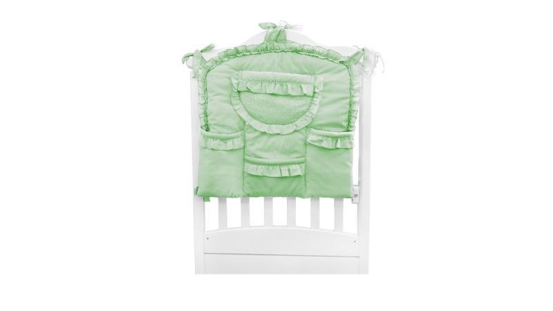 Аксессуар в кроватку Карман Светик (зелёный) фото (0)