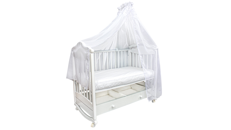 Аксессуар в кроватку Балдахин Белый фото (1)