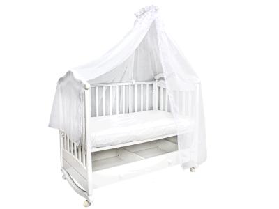 Аксессуар в кроватку Балдахин Белый фото