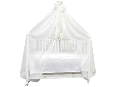 Аксессуар в кроватку Балдахин Экрю фото