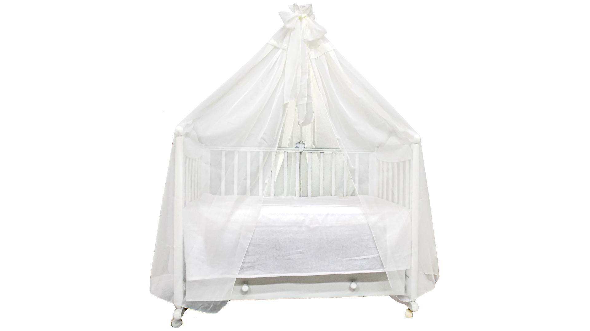 Аксессуар в кроватку Балдахин Экрю фото FullHD (0)