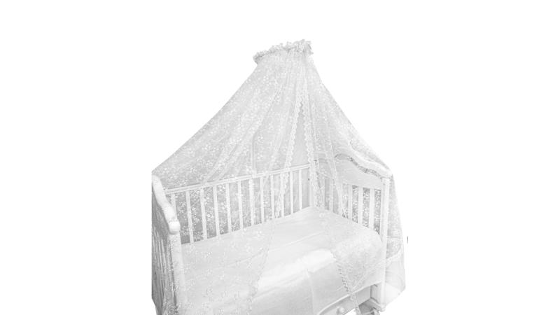 Аксессуар в кроватку Балдахин Нарядный (экрю) фото (1)