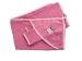 Банный аксессуар Пелёнка с варежкой Совушка (розовый) фото мни (0)