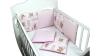 Бортик в кроватку АБВГДейка (розовый) фото мни (0)