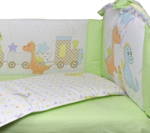 Бортик в кроватку Дино фото (5)