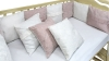 Бортик в кроватку Emily (пудра-молоко) фото мни (3)