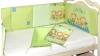 Бортик в кроватку Игрушечный (зеленый) фото мни (1)