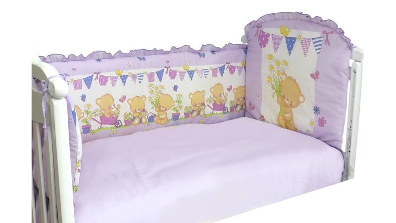 Бортик в кроватку Мишаня фото (1)