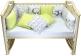 Бортик в кроватку Панды фото мни (1)