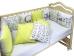 Бортик в кроватку Панды фото мни (2)