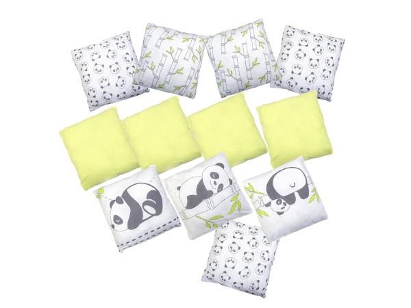 Бортик в кроватку Панды фото (0)