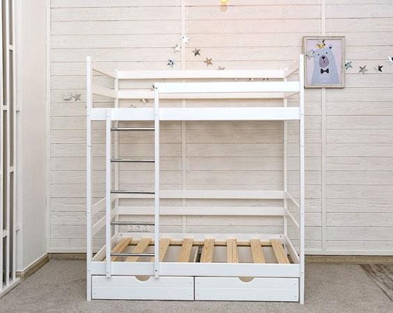 Детская кровать Двухъярусная кровать Felicita (с ящиками) фото (1)