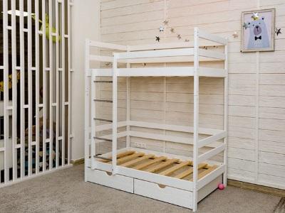 Детская кровать Двухъярусная кровать Felicita (с ящиками) фото