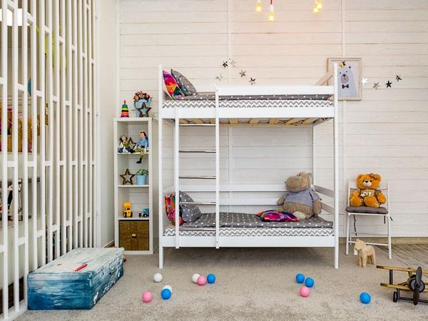 Детская кровать Двухъярусная кровать Felicita фото (1)