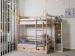 Детская кровать Двухъярусная кровать Felicita (с ящиками) фото мни (0)