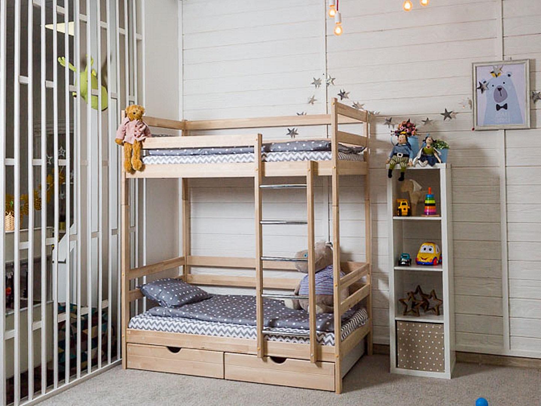 Детская кровать Двухъярусная кровать Felicita (с ящиками) фото FullHD (0)