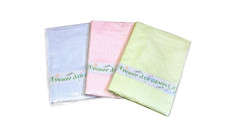 Детское постельное бельё Простыня (зелёная) фото (1)
