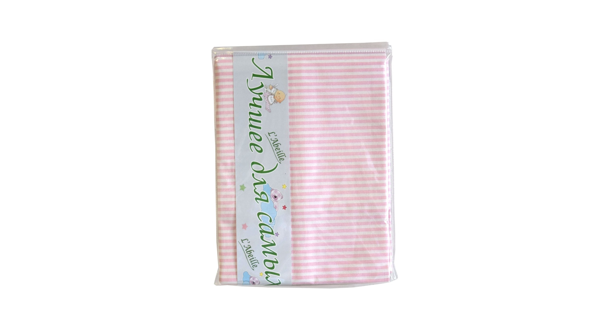 Детское постельное бельё Простыня (розовая) фото FullHD (0)