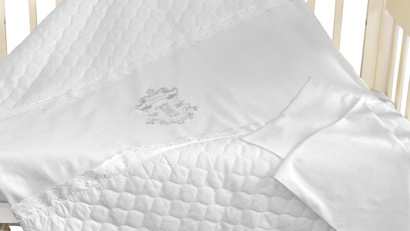 Детское постельное бельё Бомбус-Элит (белый) фото (2)