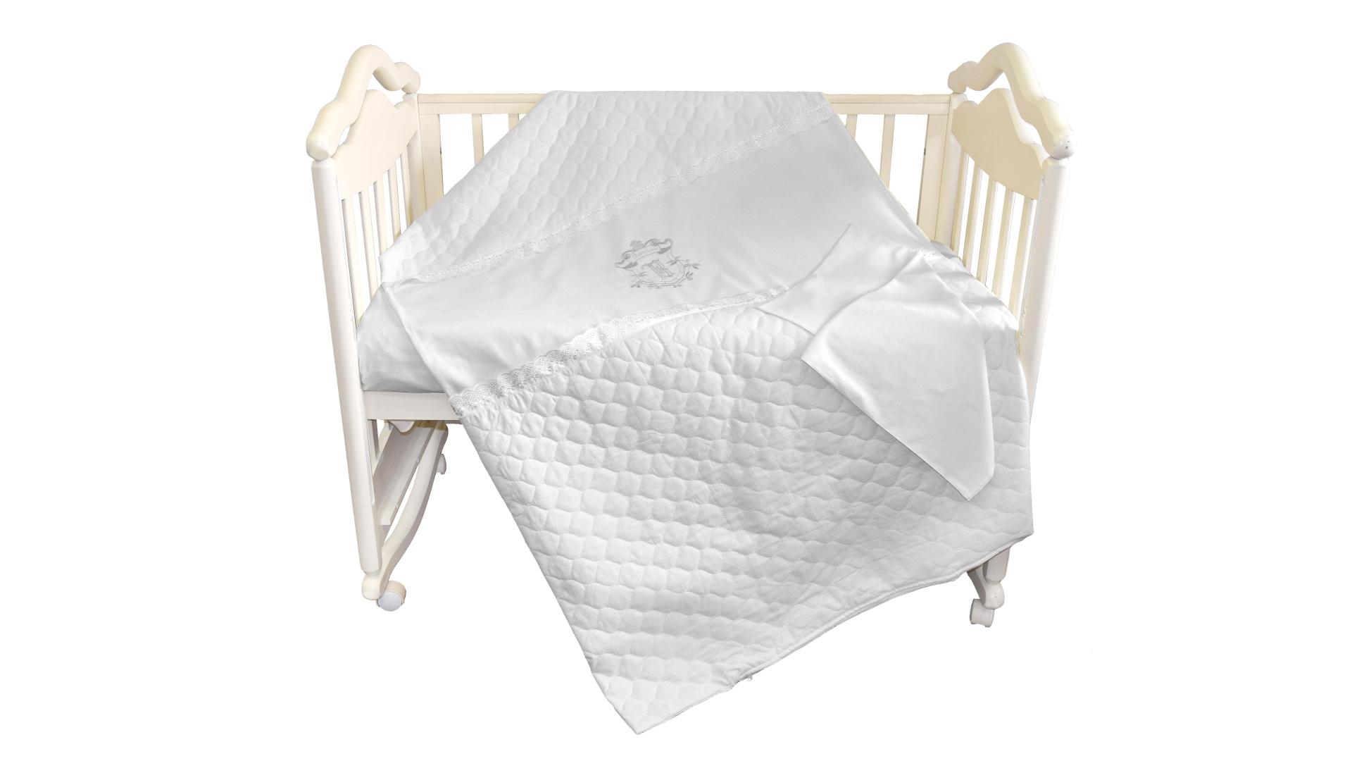 Детское постельное бельё Бомбус-Элит (белый) фото FullHD (0)