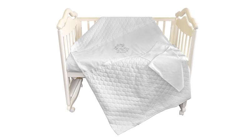 Детское постельное бельё Бомбус-Элит (белый) фото (0)