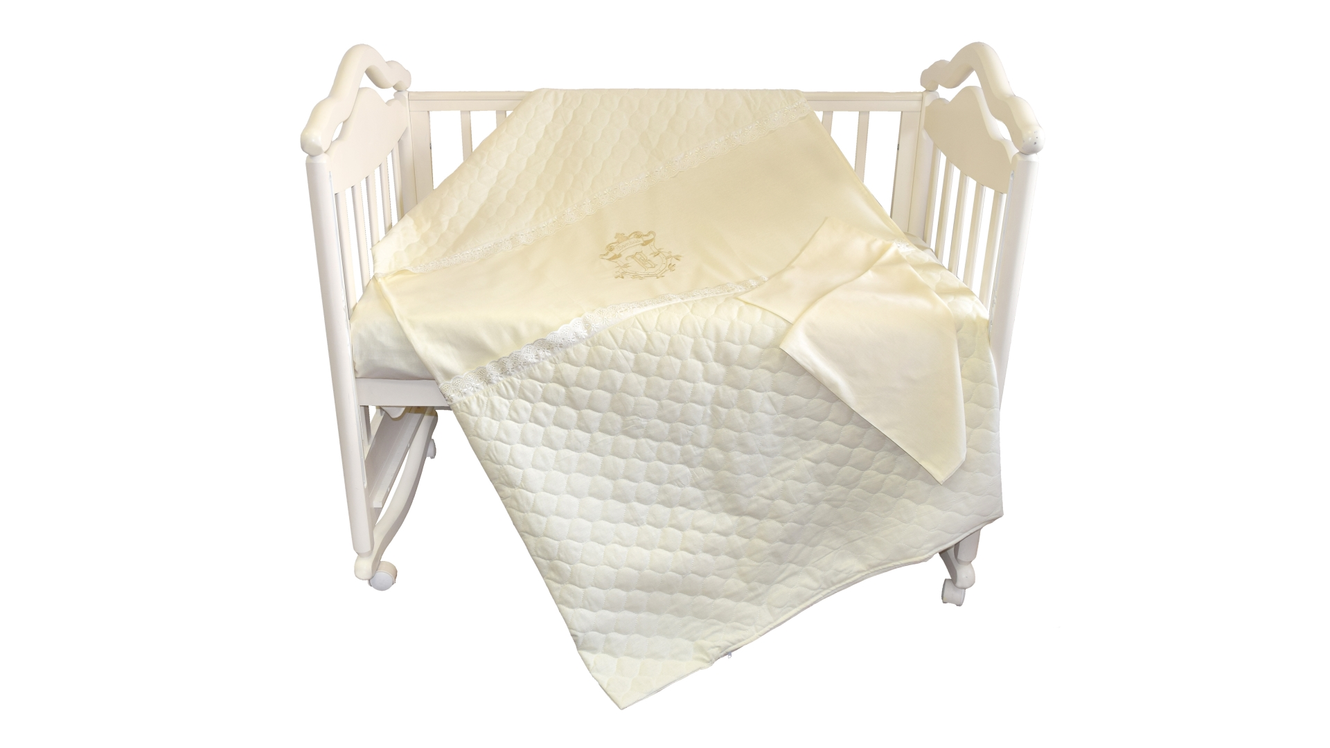Детское постельное бельё Бомбус-Элит (бежевый) фото FullHD (0)