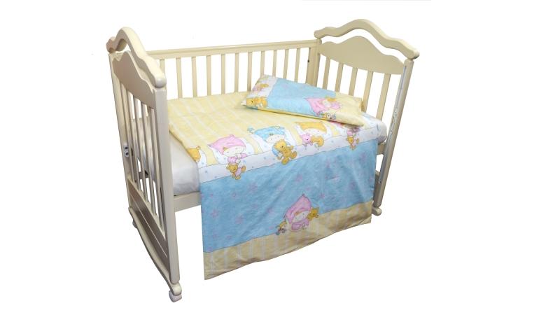 Детское постельное бельё Детки (голубой) фото (1)