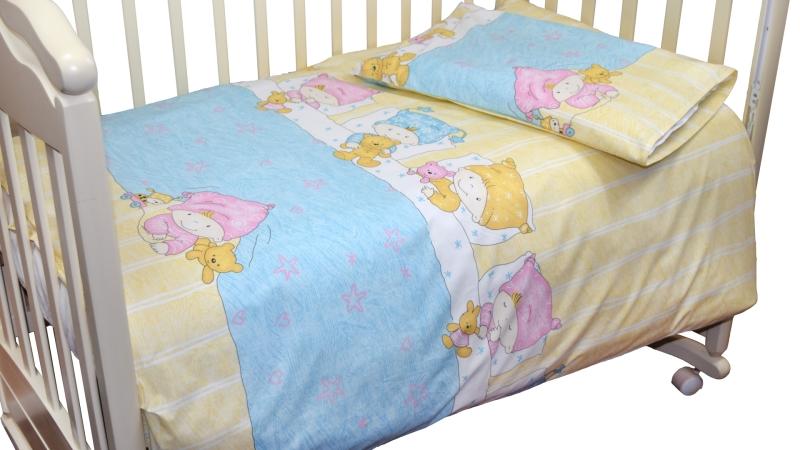 Детское постельное бельё Детки (голубой) фото (2)