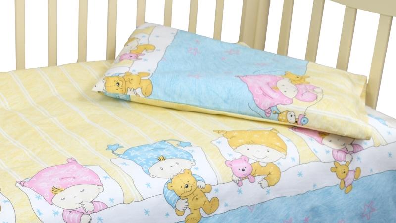 Детское постельное бельё Детки (голубой) фото (3)