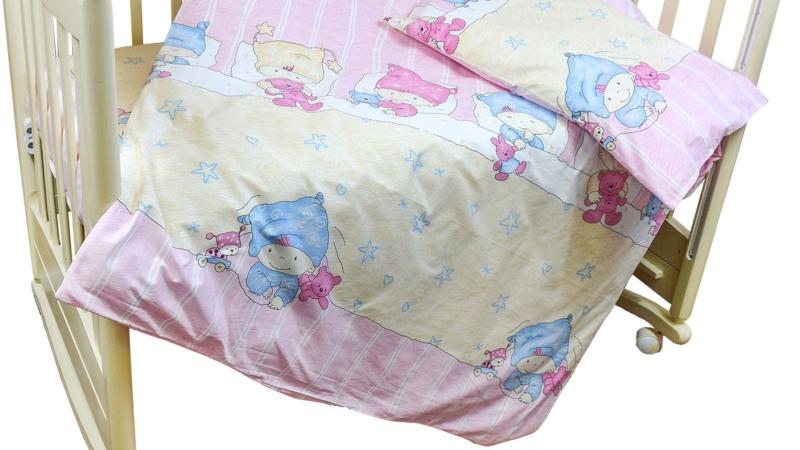 Детское постельное бельё Детки (розовый) фото (2)
