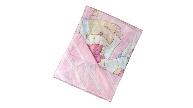 Детское постельное бельё Детки (розовый) фото (3)