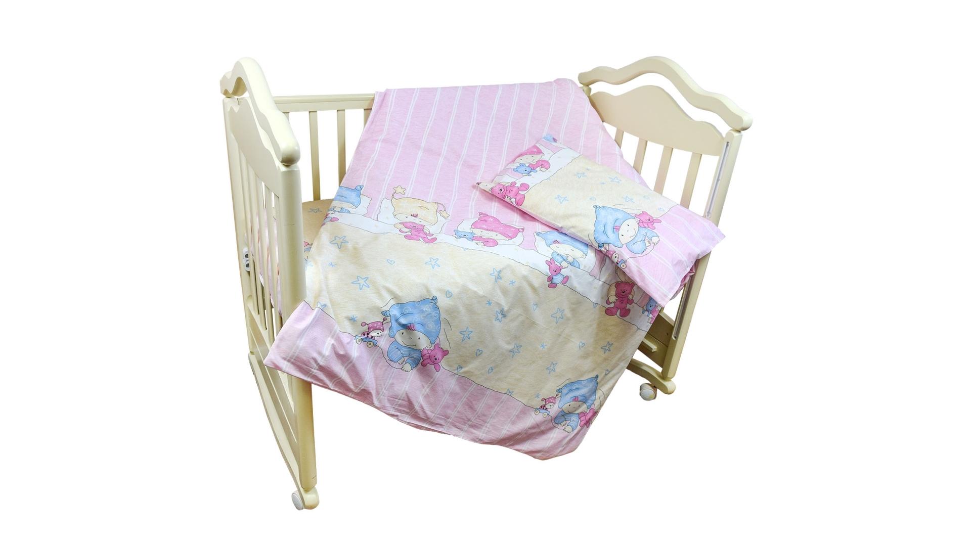 Детское постельное бельё Детки (розовый) фото FullHD (0)