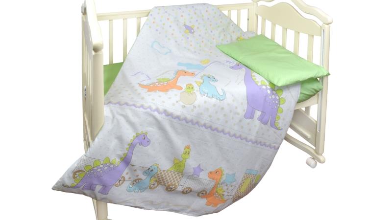 Детское постельное бельё Дино фото (1)