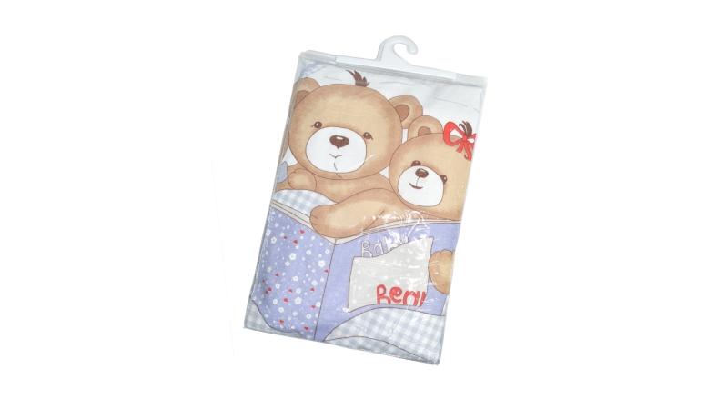Детское постельное бельё Мишки под одеялом фото (3)