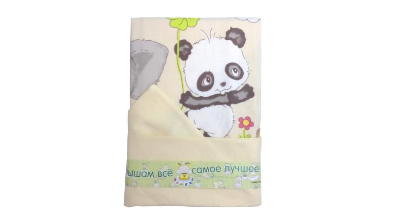 Детское постельное бельё Панда с друзьями фото (4)