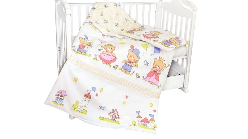 Детское постельное бельё Рыцари и принцессы фото (1)