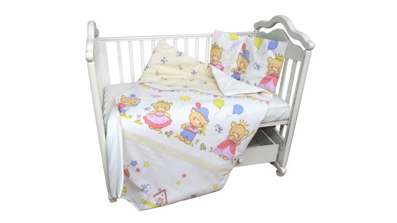 Детское постельное бельё Рыцари и принцессы фото (2)