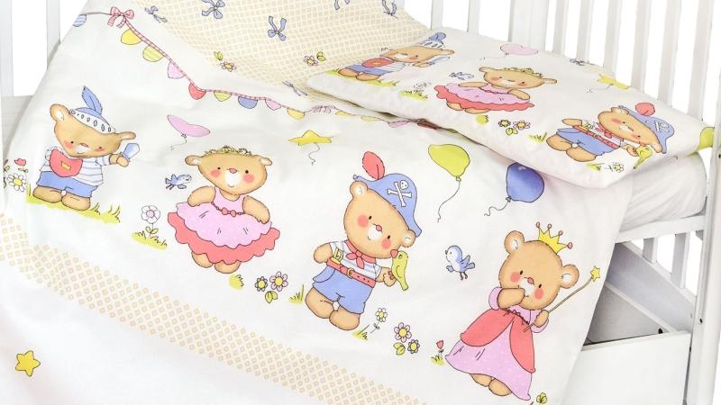 Детское постельное бельё Рыцари и принцессы фото (3)