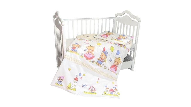 Детское постельное бельё Рыцари и принцессы фото (0)