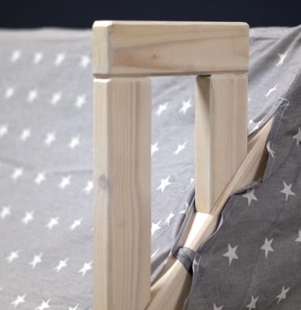Домик-кроватка Fiabo (с бортом и ящиками) фото (3)