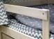 Домик-кроватка Fiabo (с бортом; беленый дуб) фото мни (5)