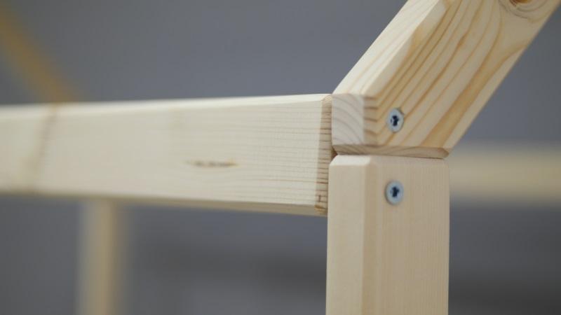 Домик-кроватка Fiabo (с бортом и ящиками) фото (2)